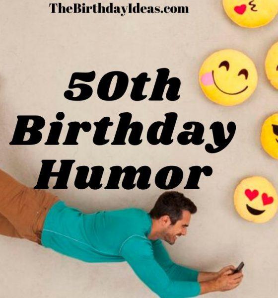 50th Birthday Humor