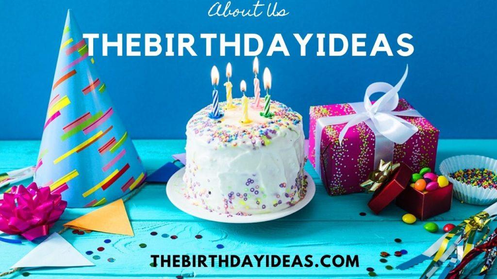 About TheBirthdayIdeas.com