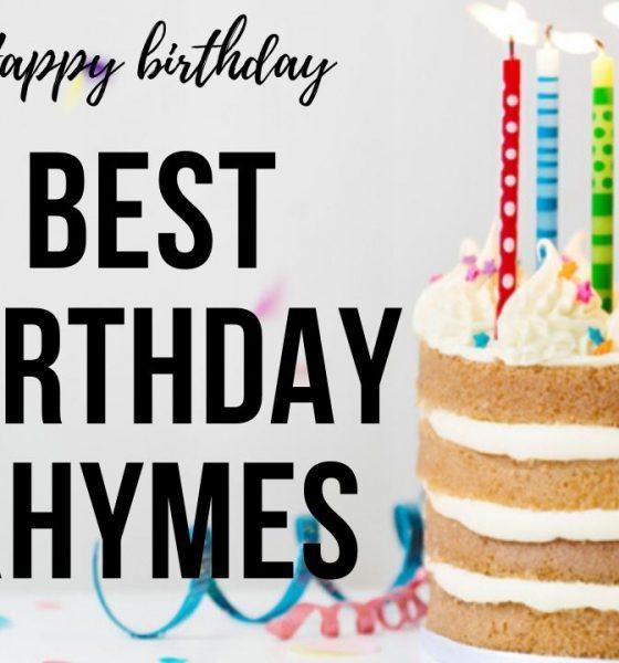 Birthday Rhymes