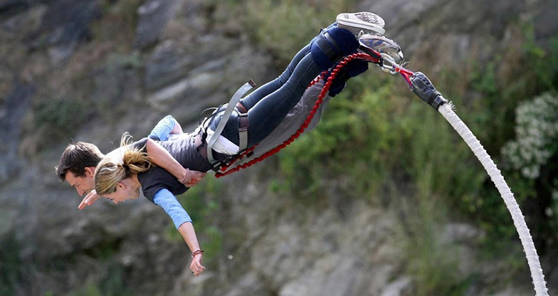 Bungee Jumping Together