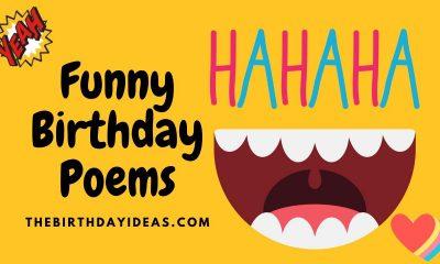 Funny Birthday Poems