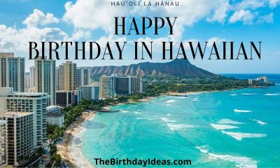 Happy Birthday in Hawaiian