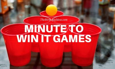 Minute to Win It Games