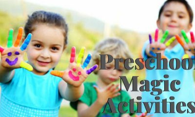 Preschool Magic Activities