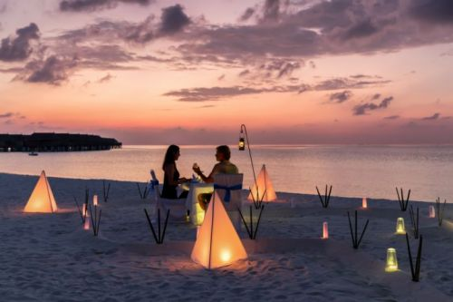 Romantic Quality Time At The Beach