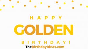 Golden Birthday