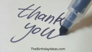 Reply to Birthday Wishes