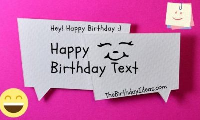 Happy Birthday Text