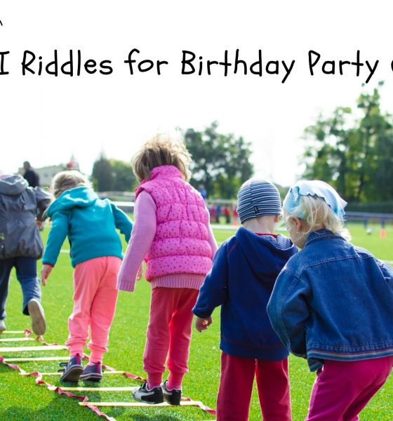 What Am I Riddles for Birthday Party Games