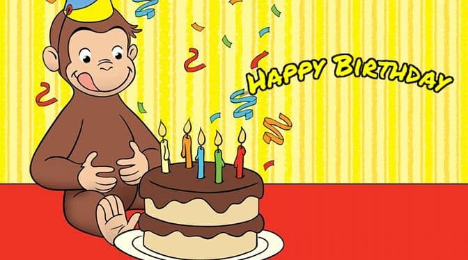 forCurious George Birthday Party Theme