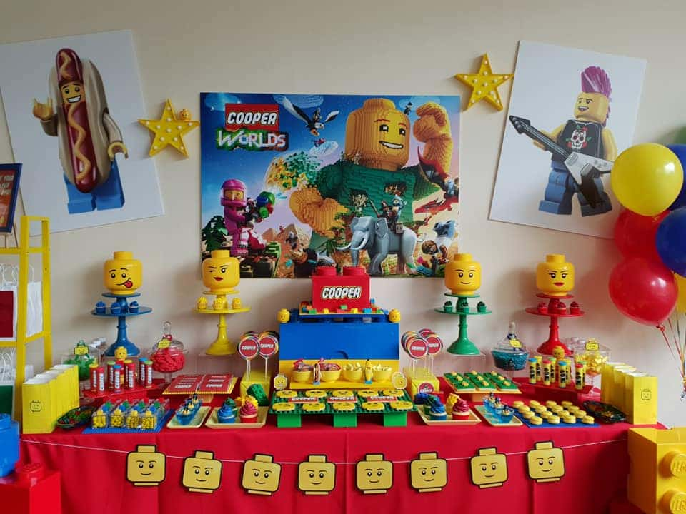 LEGO Birthday Party Ideas for 6 Year Old