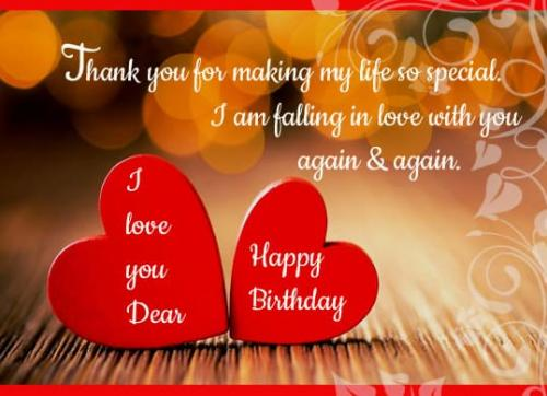 Happy Birthday My Wife