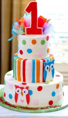 1st birthday cake design idea image